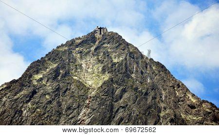 High Tatras mountains and Lomnicky Stit, Slovakia, Europe