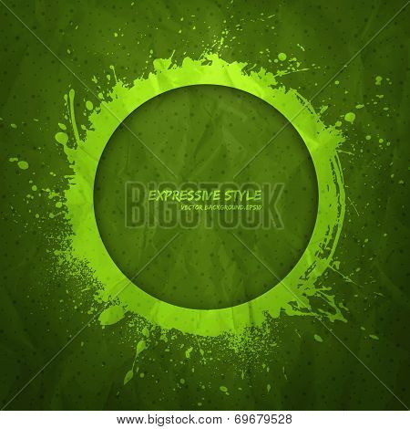 Hand Drawn Vector Grunge Background