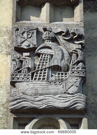 Church Boat Carving