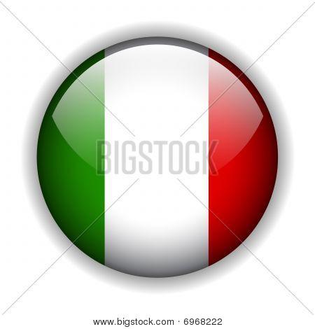 意大利国旗按钮, 矢量