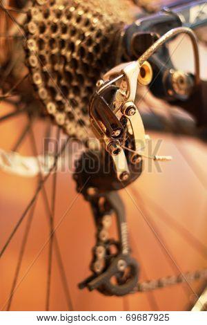 Mountain Bike Gears Rear Derailleur Mech