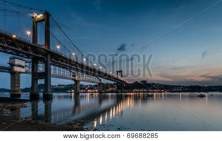 The Tamar Bridge