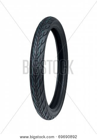 New motorcycle tyre
