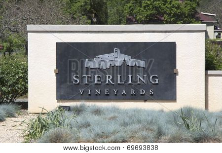 Sterling Vineyards in Napa Valley