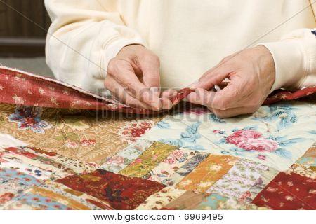 Hand Binding Quilt