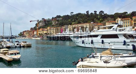 City Of Nice - Harbour And Port
