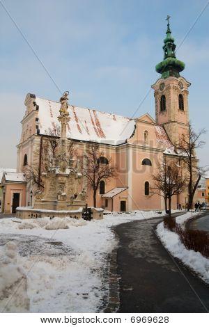 Church In Hainburg