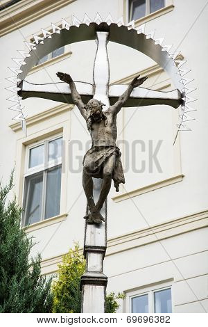 Big Crucifixion Of Jesus Christ