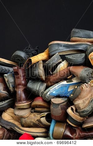 old shoes backgrounds 2