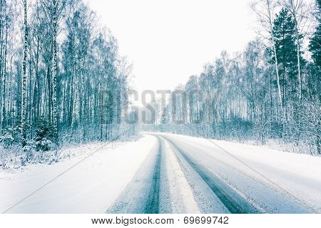 Snowy Land Road