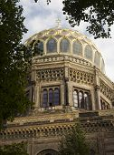 picture of synagogue  - The Neue Synagoge  - JPG