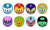 Постер, плакат: Wrestlers Masks