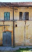 pic of derelict  - An old derelict agricultural building in Friuli north east Italy - JPG