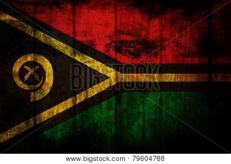 Vanuatu Flag.