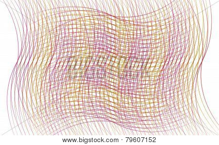 Abstract Lines Color Background