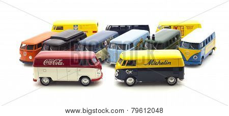 Colection Of Old VW Vans