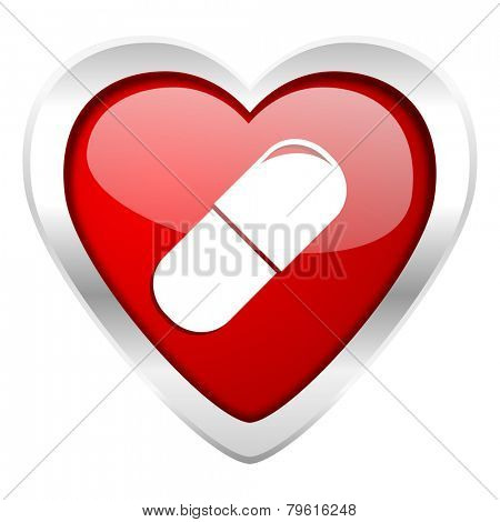 drugs valentine icon medical sign