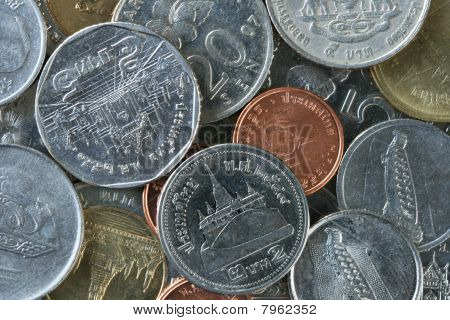 Thailand And Malaysian Coins