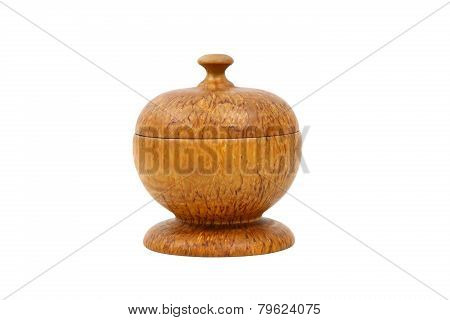 Round Wooden Box For Jewelry