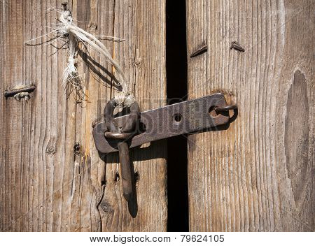 Rustic Door Latch