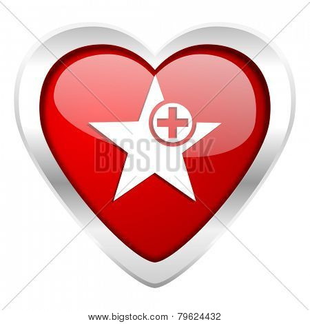 star valentine icon add favourite sign
