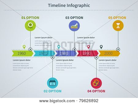 Infographic business with diagrams