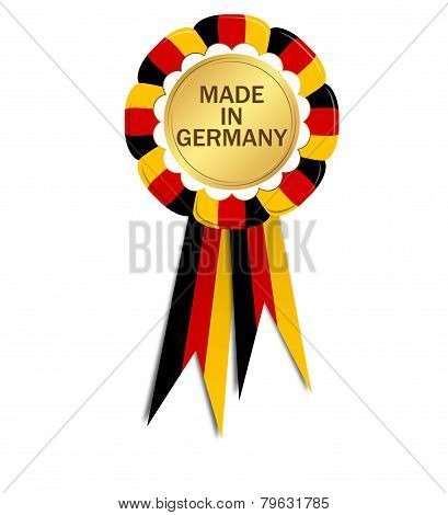 Seal With Ribbons Made In Germany