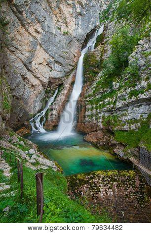 Savica waterfall, Bohinj, Slovenia