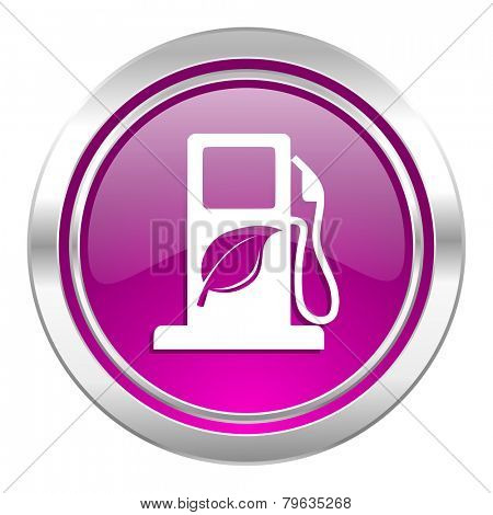 biofuel violet icon bio fuel sign