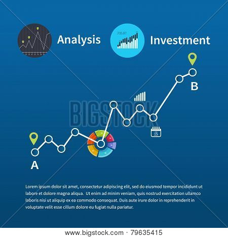 Web analytics information and investment