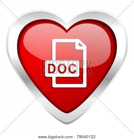 doc file valentine icon