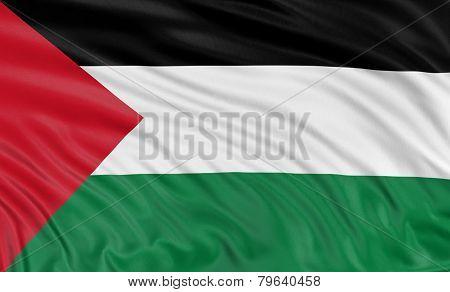 3D Palestinian flag