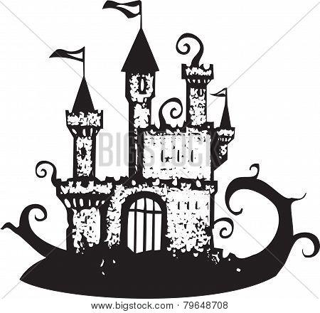Magic Vine Covered Castle