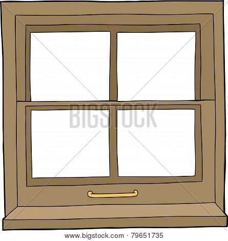 Isolated Cartoon Window