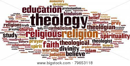 Theology Word Cloud