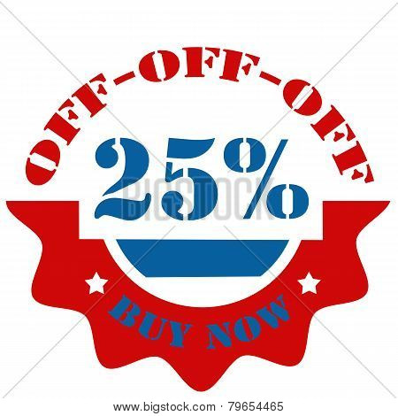Buy Now-25% Off