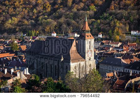 The Black Church Cathedral In Brasov
