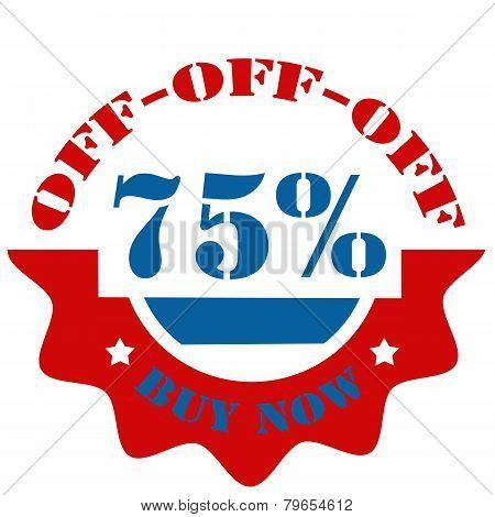 Buy Now-75% Off