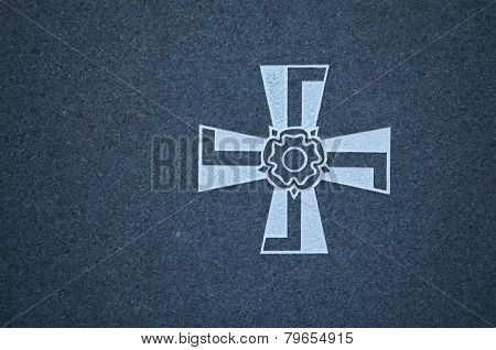 Finnish swastika Cross