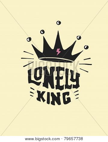Loneley king