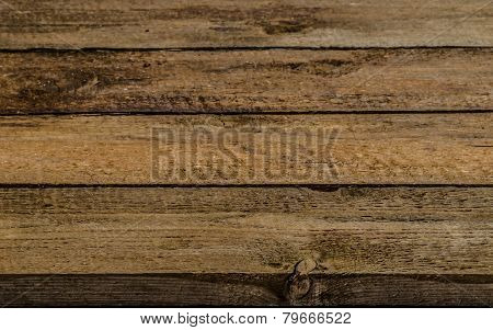 Wooden Background, Space For Advertising Text