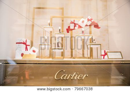 Cartier Window Shop