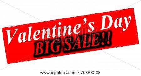 Valentine day big sale