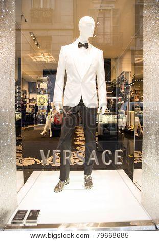Versace Window Shop