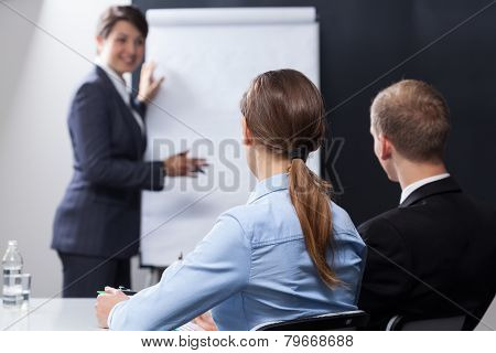Employees Listening Interesting Presentation