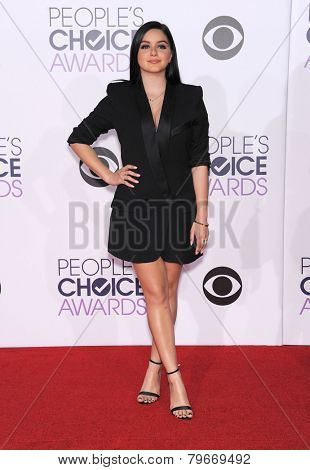 LOS ANGELES - JAN 07:  Ariel Winter arrives to the People's Choice Awards 2014  on January 7, 2015 in Los Angeles, CA
