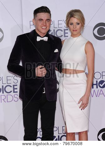 LOS ANGELES - JAN 07:  Jesse McCartney arrives to the People's Choice Awards 2014  on January 7, 2015 in Los Angeles, CA