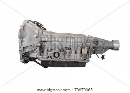 gearbox isolated under the white background