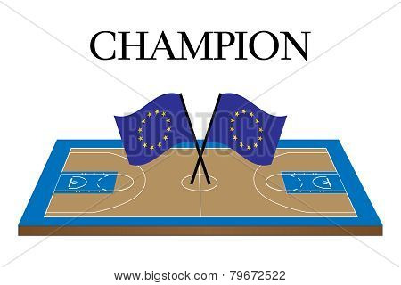 Basketball Champion Court Europe