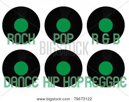 Music Genres Vinyl 4